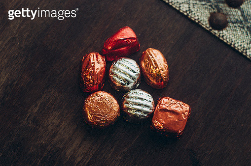 Chocolates packaged - gettyimageskorea