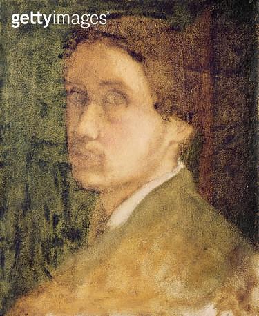 <b>Title</b> : Self Portrait, c.1852 (pastel on paper)<br><b>Medium</b> : pastel on paper<br><b>Location</b> : Musee de la Ville de Paris, Musee du Petit-Palais, France<br> - gettyimageskorea