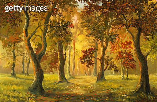 Here you will find my landscape oil-painting, and also a little still-life and imagination - gettyimageskorea