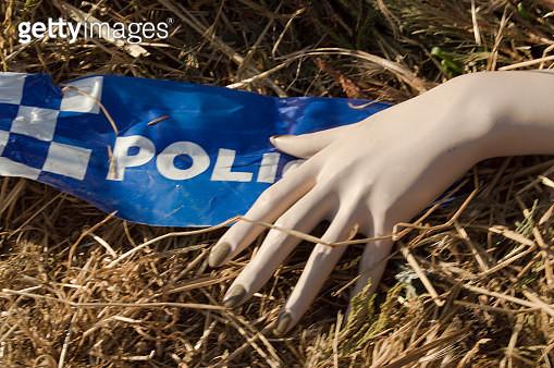 Police Line - Crime Scene - gettyimageskorea