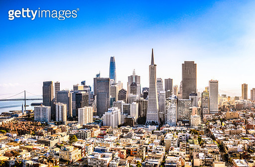 Downtown San Francisco - gettyimageskorea
