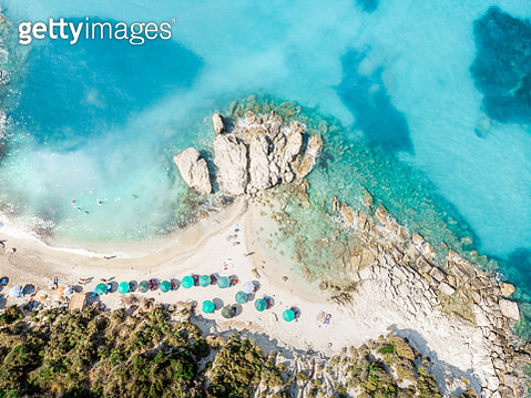 Little Xigia beach. Zakynthos. - gettyimageskorea