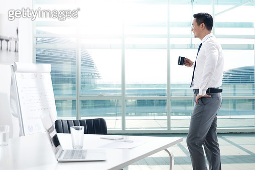 Business men in the Office - gettyimageskorea