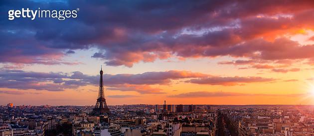 Paris cityscape - gettyimageskorea