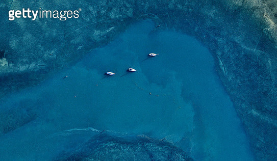Aerial view of yachts. Victoria, Australia - gettyimageskorea