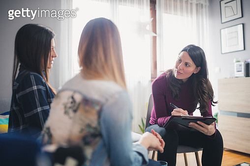 Counseling at home - gettyimageskorea