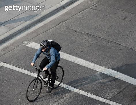 City Bike Courier - gettyimageskorea