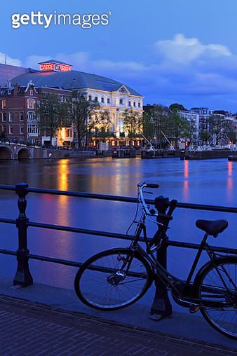 Koninklijk Theatre, Amstel River, Amsterdam, North Holland, Netherlands, Europe - gettyimageskorea