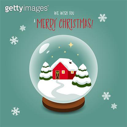 Christmas snow globe - gettyimageskorea
