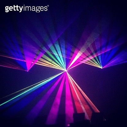 Multi Colored Laser Lights - gettyimageskorea