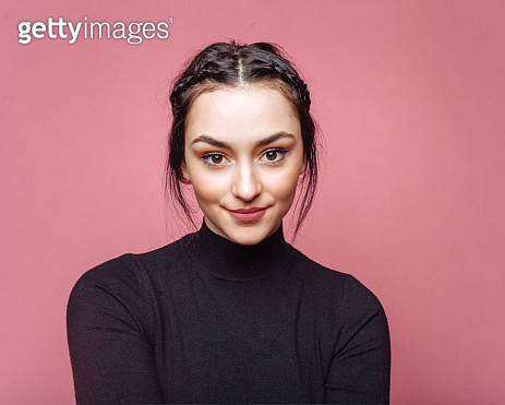 Portrait of beautiful young woman - gettyimageskorea