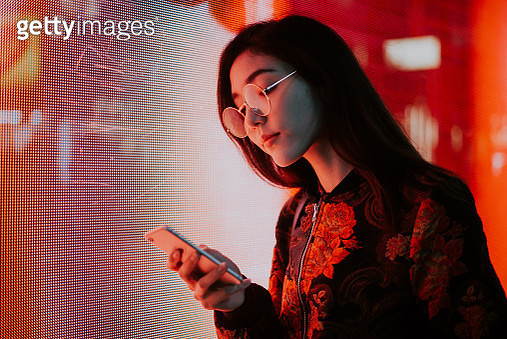 Beautiful Asian Japanese Girl Street Portraits - gettyimageskorea