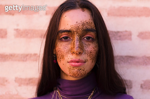 portrait of a young beautiful women - gettyimageskorea