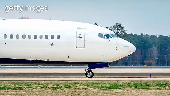 Passenger Jetliner - Forward Fuselage - gettyimageskorea
