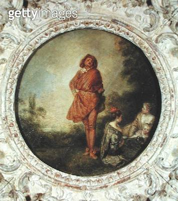 <b>Title</b> : The Proud Man, 1715 (oil on canvas)<br><b>Medium</b> : oil on canvas<br><b>Location</b> : Private Collection<br> - gettyimageskorea