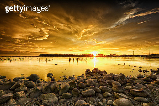 Golden Sunset - gettyimageskorea