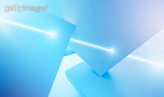 Light beam penetrating surfaces - gettyimageskorea