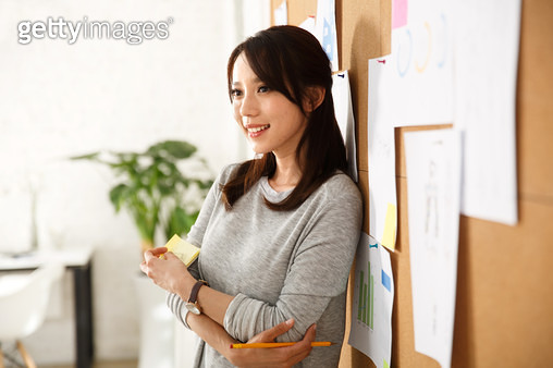 Young women in the Office - gettyimageskorea