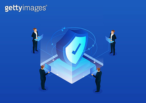 Isometric network security technology - gettyimageskorea