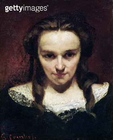 <b>Title</b> : The Clairvoyant or, The Sleepwalker, c.1865 (oil on canvas)<br><b>Medium</b> : oil on canvas<br><b>Location</b> : Musee des Beaux-Arts et d'Archeologie, Besancon, France<br> - gettyimageskorea