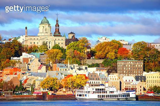 Autumn in Quebec City - gettyimageskorea