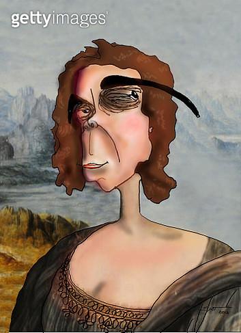 Mona Lisas sister - gettyimageskorea