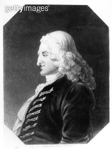 <b>Title</b> : Henry Fielding (1707-54) engraved by Samuel Freeman (1773-1857) (engraving) (b&w photo)<br><b>Medium</b> : engraving<br><b>Location</b> : Private Collection<br> - gettyimageskorea