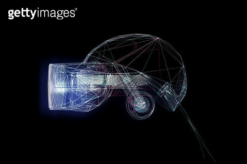 VR goggles black - gettyimageskorea