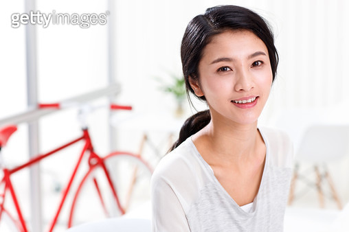 Young female portraits - gettyimageskorea