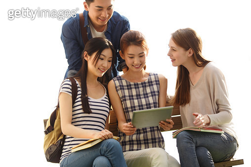 Young college students in learning - gettyimageskorea