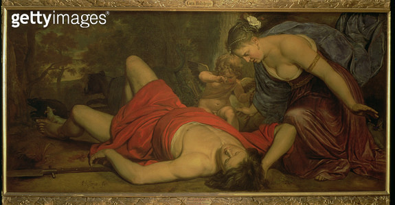 <b>Title</b> : Venus Weeping over the Death of Adonis (oil on canvas)<br><b>Medium</b> : <br><b>Location</b> : Frans Hals Museum, Haarlem, The Netherlands<br> - gettyimageskorea