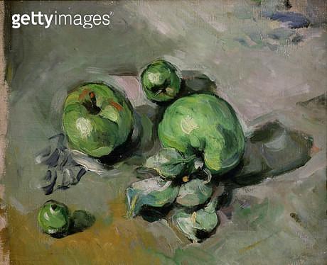 <b>Title</b> : Green Apples, c.1872-73 (oil on canvas)<br><b>Medium</b> : oil on canvas<br><b>Location</b> : Musee d'Orsay, Paris, France<br> - gettyimageskorea