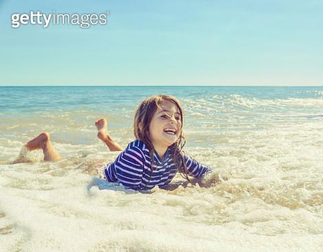 Beach Babe - gettyimageskorea