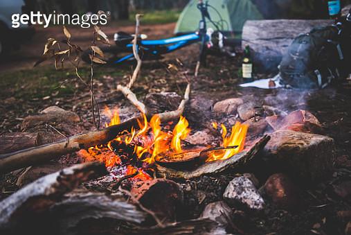 Campfire cookup - gettyimageskorea