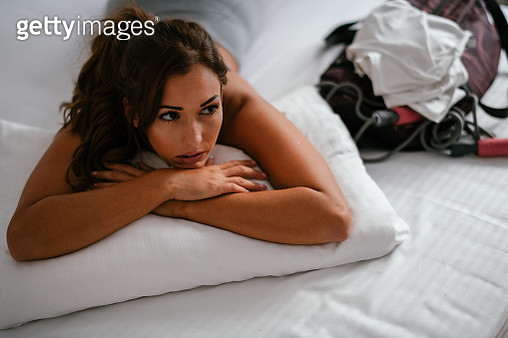 Young female tired from workout - gettyimageskorea