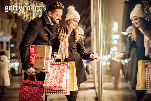 Christmas gift shopping - gettyimageskorea