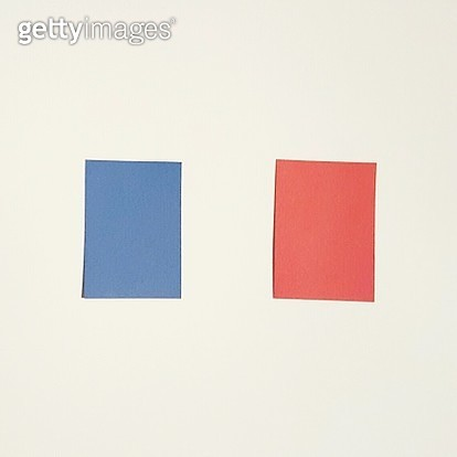 French Flag Painted On Wall - gettyimageskorea
