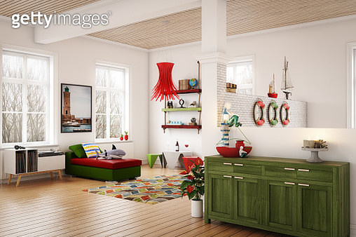 Cozy Nautical Themed Interior - gettyimageskorea