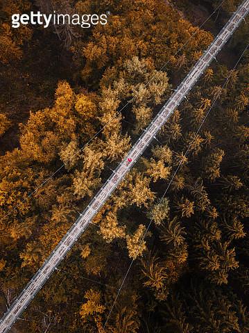 Geierlay Drone - gettyimageskorea