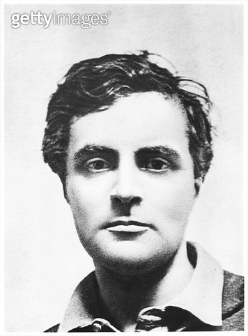 <b>Title</b> : Portrait of Amedeo Modigliani (1884-1920) (b/w photo)<br><b>Medium</b> : <br><b>Location</b> : Private Collection<br> - gettyimageskorea