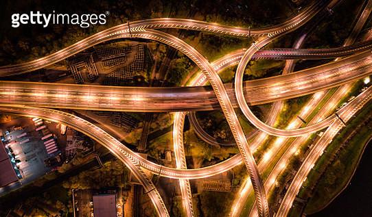 Motorway/Freeway from above - gettyimageskorea