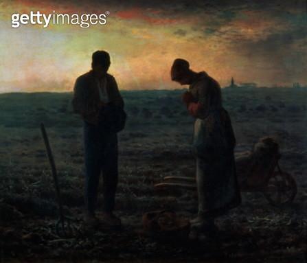 The Angelus, 1857-59 - gettyimageskorea