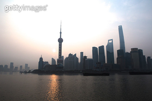 Shanghai, China, Oriental Pearl Tower, Lujiazui Finance and Trade Zone,  - gettyimageskorea