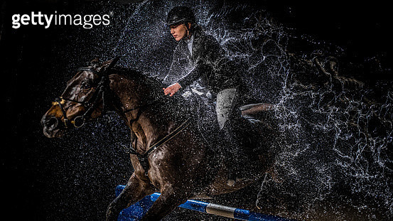 Show jumping - gettyimageskorea