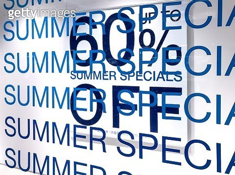 Summer special sale up to 60% discounts - gettyimageskorea