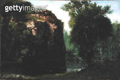 <b>Title</b> : The Silent River, 1868 (oil on canvas)<br><b>Medium</b> : oil on canvas<br><b>Location</b> : Brooklyn Museum of Art, New York, USA<br> - gettyimageskorea