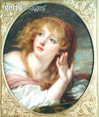 <b>Title</b> : The Surprise, c.1800 (oil on canvas)<br><b>Medium</b> : oil on canvas<br><b>Location</b> : Musee Conde, Chantilly, France<br> - gettyimageskorea