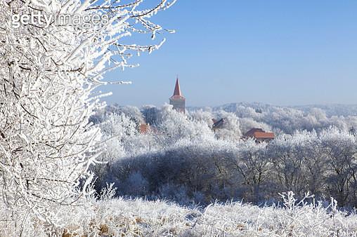 winter in Jilove, Czech republic - gettyimageskorea