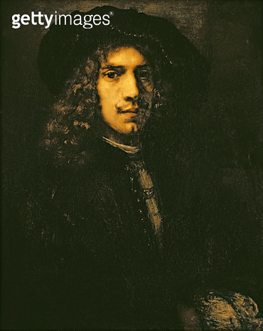 <b>Title</b> : Portrait of a Young Man, 1658 (oil on canvas)<br><b>Medium</b> : oil on canvas<br><b>Location</b> : Louvre, Paris, France<br> - gettyimageskorea