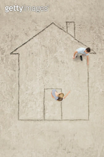 Thinking of a house - gettyimageskorea